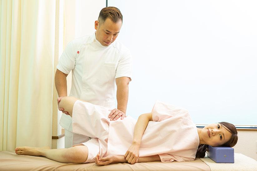 膝の痛みの治療